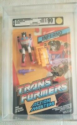 Transformers Action Masters Inferno (Hasbro 1990) AFA 90 85/90/90