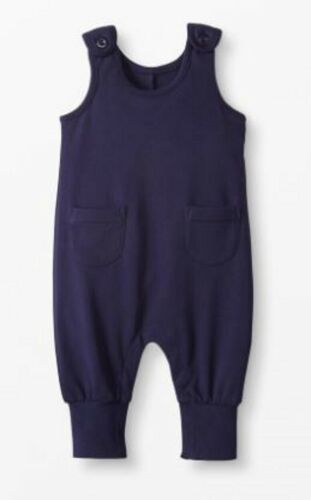 Hanna Andersson baby boy terry overall navy 0 3  6 9 12 18 24 m 2 3 y RRP $40