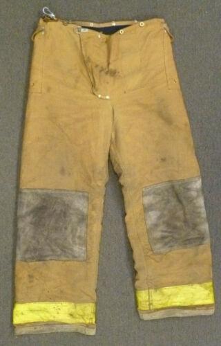 34x30 Janesville Tan Firefighter Pants Turnout Gear Bunker P014