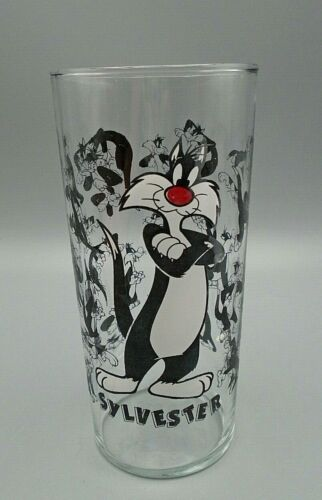 Vintage Warner Bros Sylvester the Cat Drinking Glass