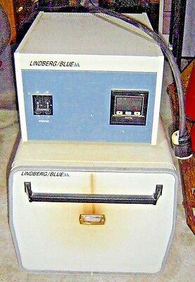 Lindberg Blue M 1200 Degree C Lab Oven Burnout Box Furnace Controller Cc58114ac