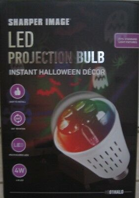 Sharper Image Moving Landscape Motion Projector BULB Laser Light Show Halloween - Halloween Moves