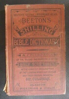 Beeton's Shilling Bible Dictionary  Undated Pickering & Inglis