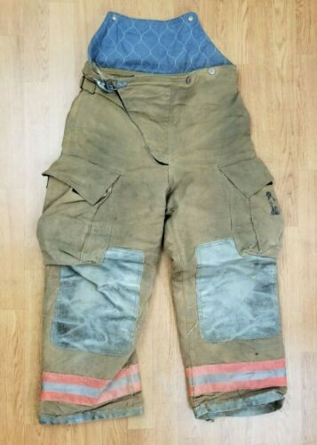 Globe Firefighter Bunker Turnout Pants 34 x 28