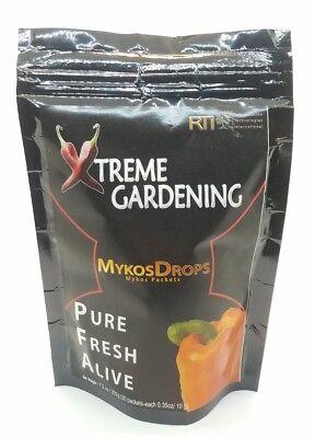 Xtreme Gardening Mykos Drops Pure Mycorrhizal 200g 20 packets - Mycos (Extreme Garden)