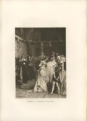 Infant Renaissance Costume (ANTIQUE RENAISSANCE COSTUME LACE BABY BAPTISM ECCLESSIASTICAL SAINT MARK)
