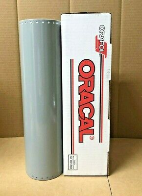 Oracal 651 1 Roll 15 X 10yd 30ft Middle Grey 074 Gloss Sign Vinyl