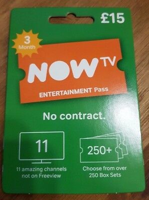 3 month NOW T.V Entertainment GENUINE PASS, EXPERIENCED SELLER