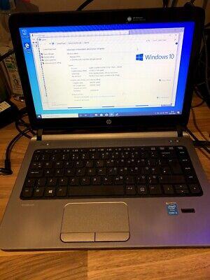 HP ProBook 430 G2 Laptop, Intel Core i5 12GB RAM, 500GB HDD, Win10 pro OR 250SSD, usado segunda mano  Embacar hacia Argentina