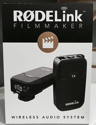 Rode Microphones RODElink Wireless Filmmaker Kit - Mint w/ Fast Shipping - L@@K!