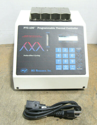 MJ Research PTC-100 Programmable Thermal Cycler Controller Thermocycler Tested