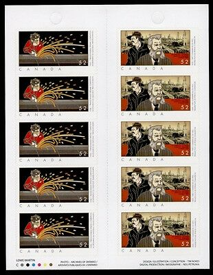 Canada 2268A Booklet Mnh First Commercial Oilwell  Transcanada Pipeline