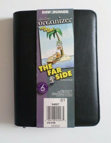 Day Runner The Far Side Slimeline Organizer 2000 - 2001 New