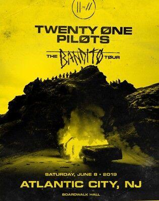 Twenty One Pilots Concert RARE GA FLOOR SEATS! - THE BANDITO TOUR Atlantic City