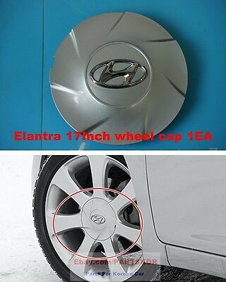 2011-2013 Hyundai Elantra OEM Genuine Parts Center Wheel Hub Cap 17 inch 1 PCS