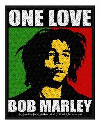 BOB MARLEY - Patch Aufnäher One Love 8x10cm Bob Patch