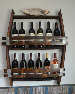 Wine Barrel Wine Rack ()