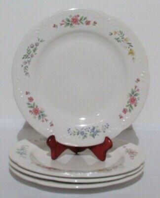 "Pfaltzgraff Meadow Lane 10""  Dinner Plates  Set of 4  USA"