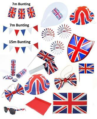 Union Jack Flag Theme Party Decorations Celebration Great Britain