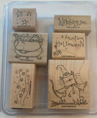 Stampin Up Halloween Stamp Sets (Stampin' Up Haunting Halloween Stamp)
