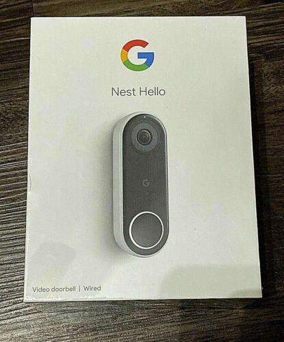 NEW GOOGLE NEST HELLO SMART VIDEO DOORBELL NC5100US