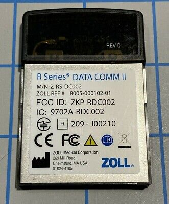 Zoll R Series Plus Data Comm Ii