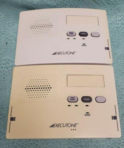 (2) Executone 33550-1 33500-1 NurseCall Station