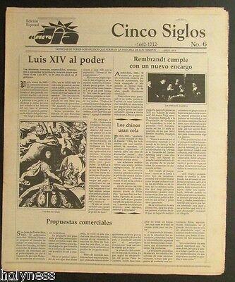 El Nuevo Dia    Vintage Newspaper   Cinco Siglos De Historia   6   Puerto Rico
