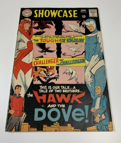 Showcase 75 - 1968 DC 1st Appearance of Hawk & Dove Steve Ditko