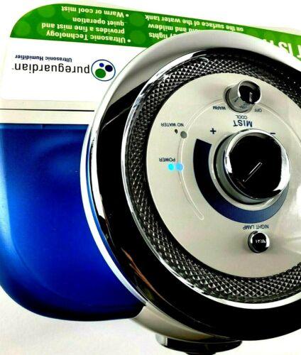 PureGuardian H4500 Ultrasonic HUMIDIFIER Warm Cool Anti Germ Mist Pure Gaurdian