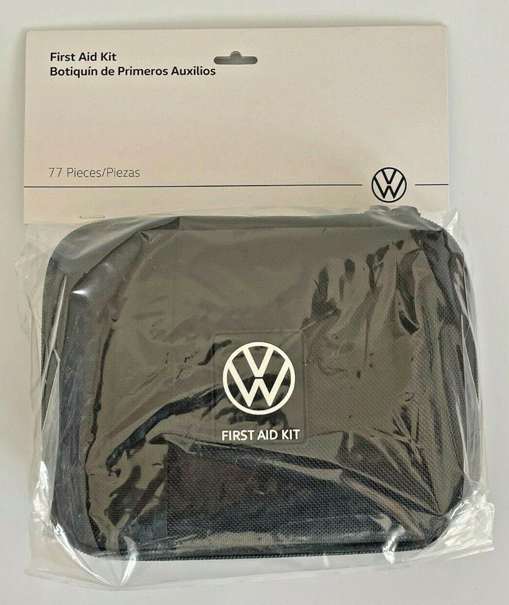 Volkswagen VW OEM First Aid Kit 000.093.108.L.9B9 Auto Safety Kit 20200619 New