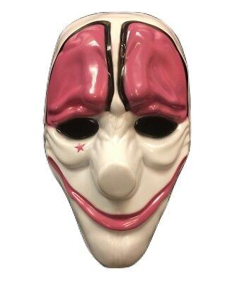 UK HOXTON PAYDAY 2 THE HEIST ADULT MASK HALLOWEEN FANCY DRESS UP COSTUME COSPLAY](Halloween 2 Mask Uk)