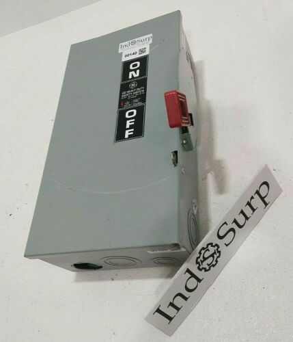 GE 100 Amp Disconnect Safety Switch  600 Volt Cat# NP1578000P