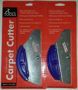 2 Kanga Tools Cushion Back Carpet Cutter