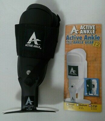 Active Ankle T2 Ankle Brace LARGE Rigid Stabilizer for Protection & Sprain    B1