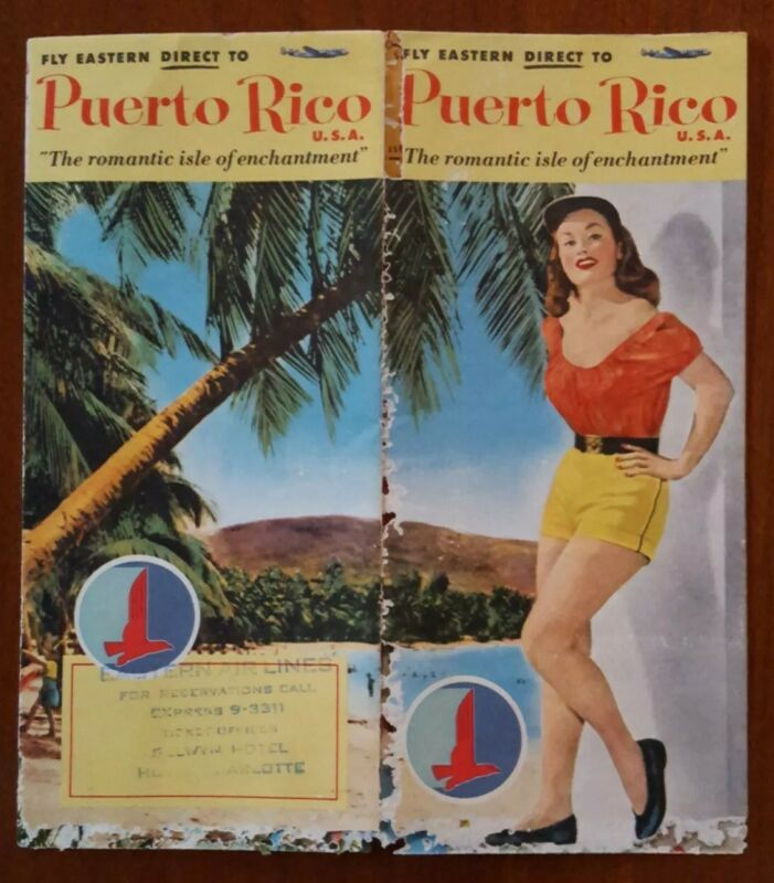 Puerto Rico Brochure Eastern Airlines