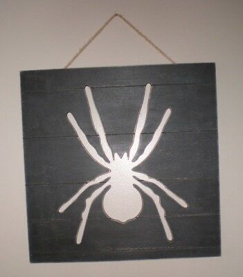 Halloween Spider Cut Out (NEW Halloween Wall Hanging Cutout Spider; Door Hanging; 13 5/8