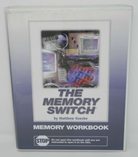 The Memory Switch Audio CD - Goerke Short Long Term Memory Training Improvement