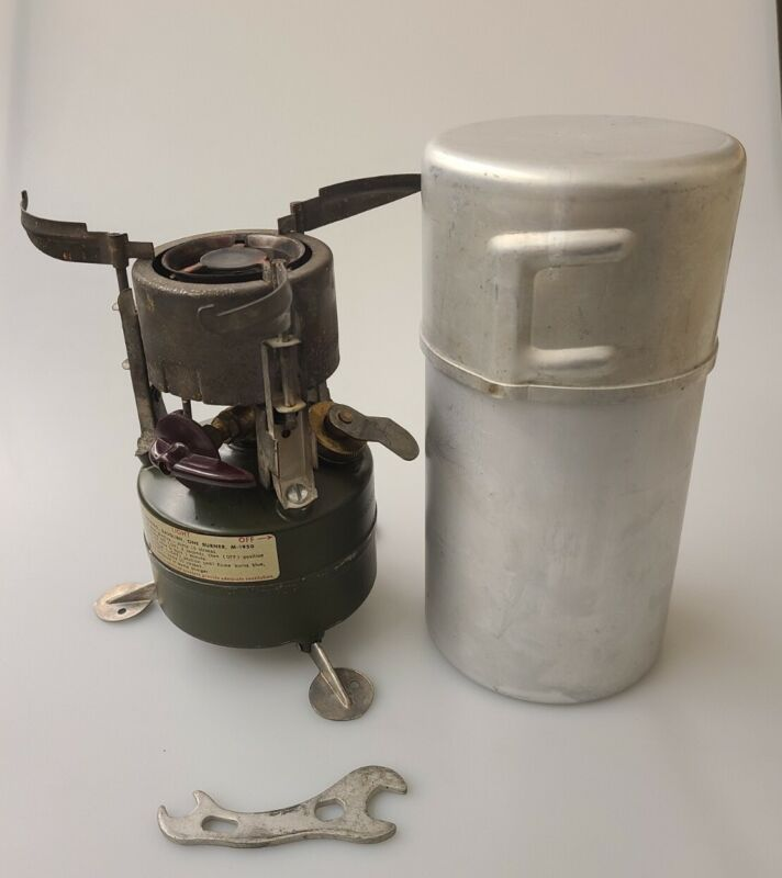 M-1950 Stove 1952 Rogers Akron Ohio Original Condition Tested w/ Wrench