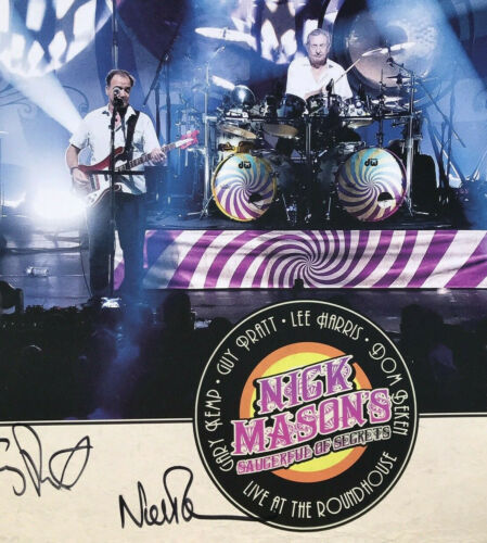 Pink Floyd Nick Mason Saucerful Of Secrets Signed Numbered Autograph Poster EX+