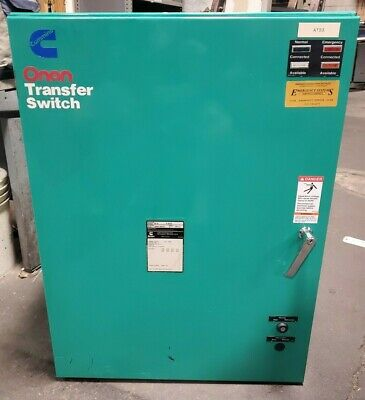 Cummins Onan 150 Amp Transfer Switch 480 Vac 3 Phase Nema 1 Model Ot150