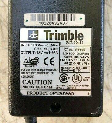 Trimble Charger Adapter Plug Surveying Equipment Part 30413 Oem