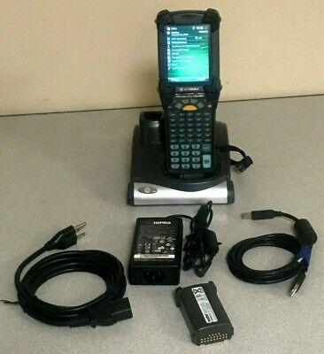Symbol Motorola Mc9090-gf0hjefa6wr Wireless Barcode Scanner Waccessories
