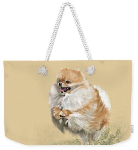 Weekend Tote - Pomeranian  FREE Personalization!