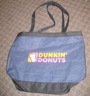 Dunkin' Donuts Tote Shopping Bag Coffee Advertising Promotional Item branded