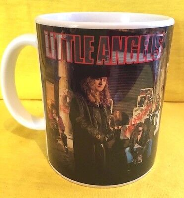 LITTLE ANGELS YOUNG GODS 1991-ALBUM  COVER- ON A MUG