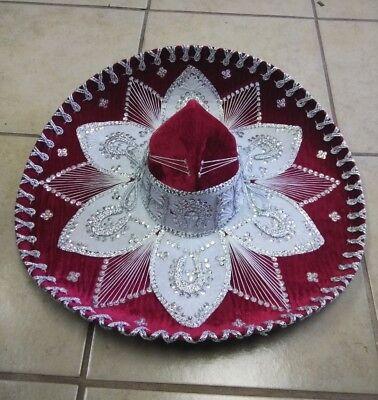 MEXICAN MARIACHI HAT , CHARRO , SOMBRERO ,COSTUME , 22