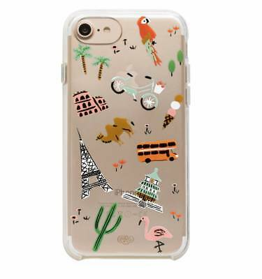 Rifle Paper Company - Clear Wanderlust - iPhone 7 Hard Case