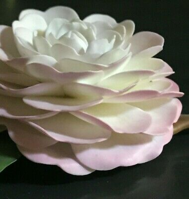 BREATHTAKING c1970s, BOEHM Pink Perfection Camellia; Closed Edition; MINT