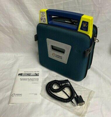 Cardiac Science Powerheart G3 Aed W Carry Case No Battery 9390e-1001